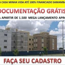Apartamento 2quartos conjugado samambaia até 100% financiado