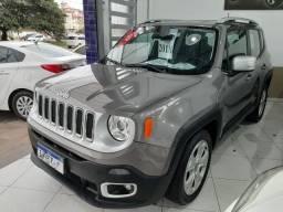 Jeep renegade limited automática 6 marchas único dono garantia banco couro multimídia