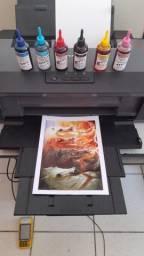 Kit (novo) 06 frascos de Tinta Pigmentada Para Impressora Epson Com Ecotank ou Bulk-Ink