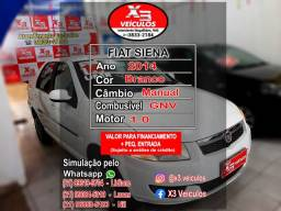 Fiat Siena EL 1.0 GNV 48x de R$ 649,00