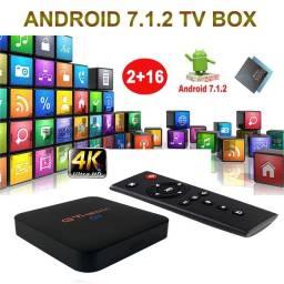GT média G3 Android 7.1 Smart Box Tv