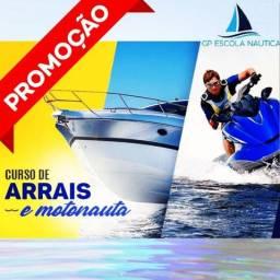 Curso de    Jet ski (Motonauta) e     Arrais Amador (lancha)
