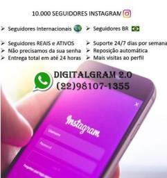 Pacote 10.000 seguidor Instagram