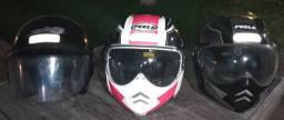 Capacete para motociclista a partir de R$40,00