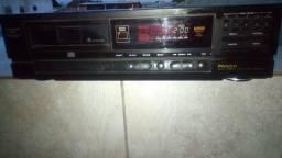 Mult Disc Player Philco toca 6 cds