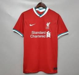 Camisa de futebol Liverpool temporada 20/21
