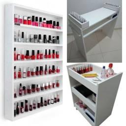 Kit móveis Manicure Frete grátis para Anápolis