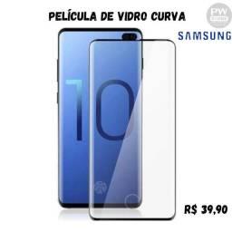 Película De vidro Curva Samsung - Loja PW STORE