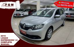 Renault Logan 1.6 Expression 8v Flex 4p Manual 2015