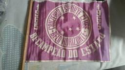 Bandeira antiga do Cruzeiro para colecionadores, 1966