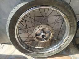 Título do anúncio: Roda raiada da cg 150