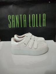 Tênis Santa Lolla Caixa Alta Original número 39