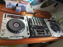 cdj 800 mk2 híbrido (cd + modo controladora)