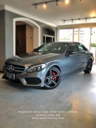 Mercedes-Benz C300 Sport 2018/18 com apenas 4 mil Km