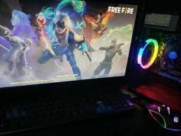 Pc gamer completo computador excelente emulador fre fire liso GTA 5
