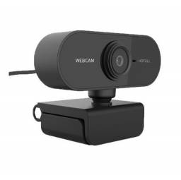 Webcam 1080P Para Uso Pessoal e Profissional