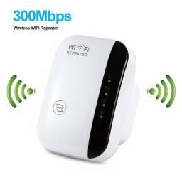 Repetidor de Sinal Sem Fio Wi-Fi Ap Router Amplificador 300mbps