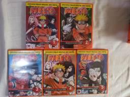 Box 01 Naruto clássico - 5 discos