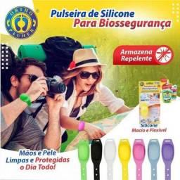 Pulseiras Porta Álcool Contra CoronaVirus
