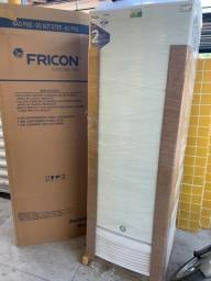 Freezer / conservador vertical dupla ação porta chapa / fricon 569 litros -