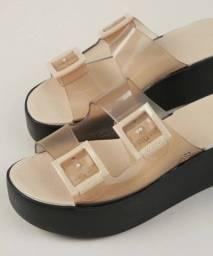 3 Calçados Zaxy (2 Sandálias + 1 Tênis Mule) N°36