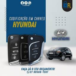 Chave Canivete Hyundai
