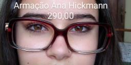 Armação Ana Hickmann, não usada.