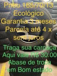 Pneu 165/70/13 R$ 130
