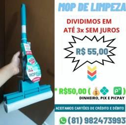 RODO MÁGICO MOP MULTIUSO FLASH LIMP ( Entrega grátis em Recife, Camaragibe e São Lourenço)