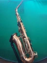 Saxofone Sax Alto Yanagisawa modelo 902 bronze