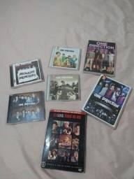 Coleção CD's e DVD's One Direction