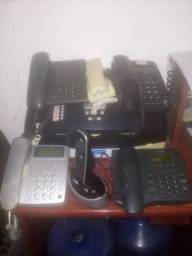 Telefones impressoras fax