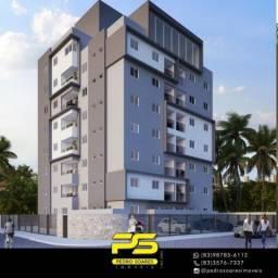 Apartamento com 2 dormitórios à venda, 58 m² por R$ 205.000,00 - Poço - Cabedelo/PB