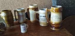 7 Canecas antigas para colecionadores wats *