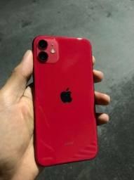 iPhone 11 Red - 64gb - Garantia até 2024