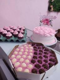 Kit festa (bolo e doces)