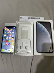 iPhone XR 64GB branco novíssimo , garantia e nota fiscal