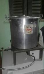Quit fogão mais panela inox