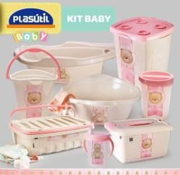 Kit plástico 8 peças