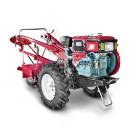 Trator Agrícola 13 HP a Diesel Toyama com Enxada Rotativa de 73cm