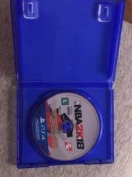Jogo PS4 NBA 2K18