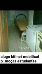 kitinet pra uma moça * é mobilh.apartir de 370.00 com luz agua e internet