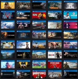 Título do anúncio: Jogos PS4 mídia digital