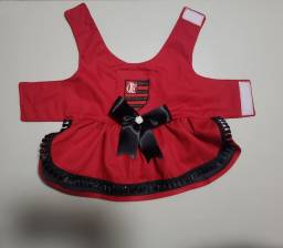 Vestido pet flamengo