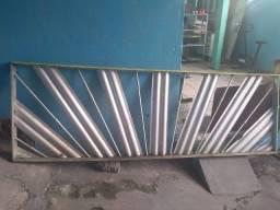 Raio de Sol de Alumínio