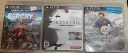 3 jogos de Playstation 3.