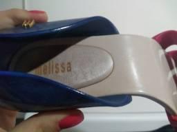 Melissa azul e rosa, número 36