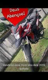 Moto XRE 190 quitada 2019