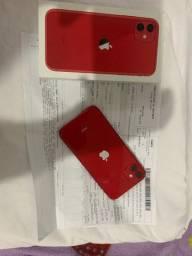 iPhone 11 64gb com nota e garantia até mês 12/2021