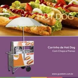 Carrinho de Hot Dog semi novo - Quase sem uso